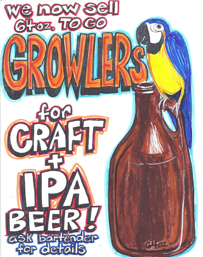 growlers available